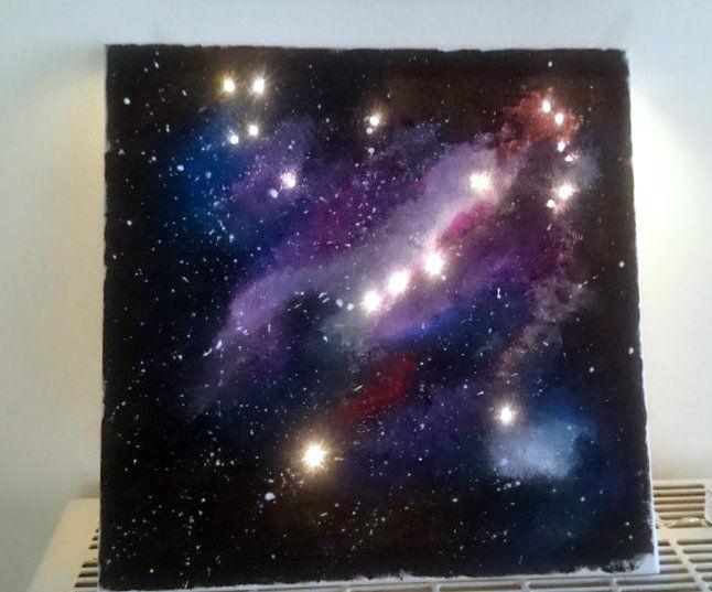 LED Constellation Canvas