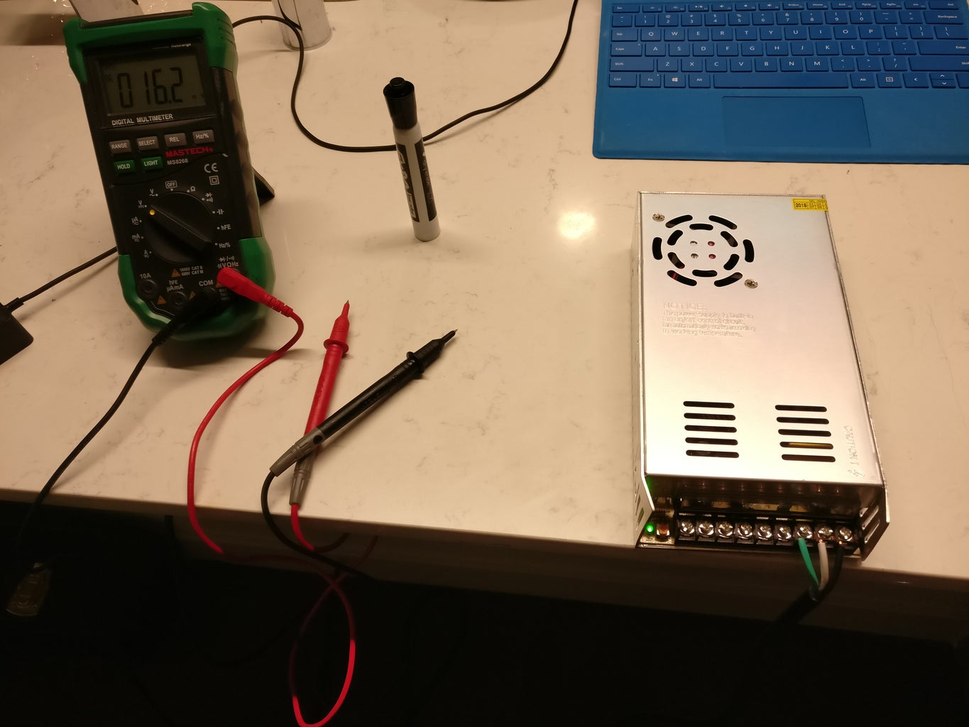 Electrical - Hooking Up the Power Supply and Testing