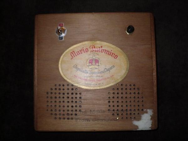 Battery-Powered Cigar Box Guitar Amp
