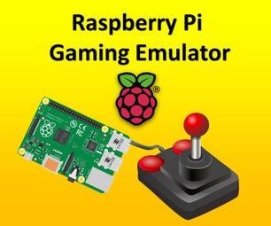 Raspberry Pi Gaming Emulator Instructions