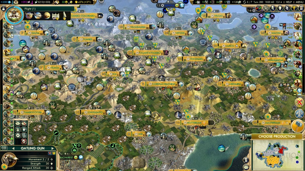 Top laiko žaidimų strategijos žaidimų serija, Rts pasirinkimo strategija