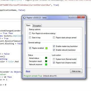 Screen Lock (VB.NET)
