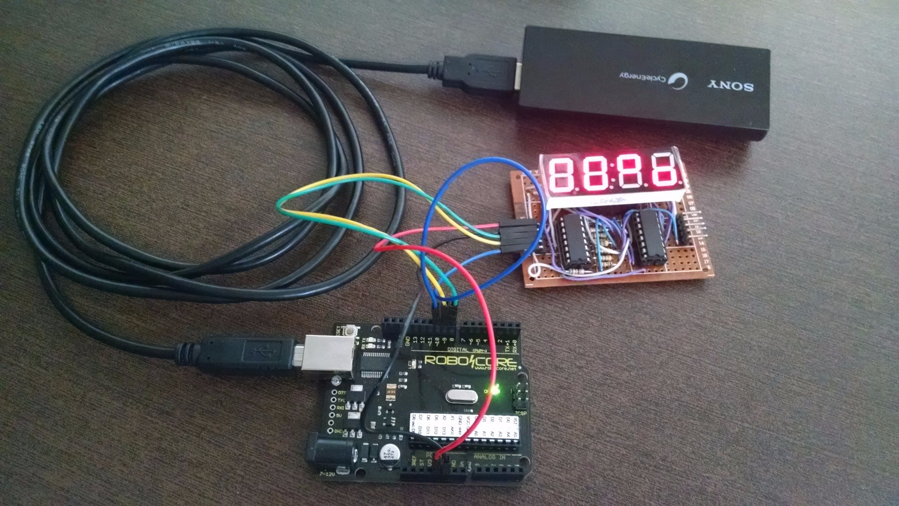 Rechargeable Battery Pack for Arduino