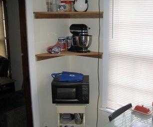 Simple Corner Shelf