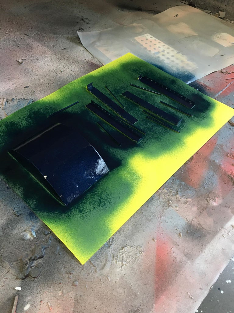 Spray Painting: Colour