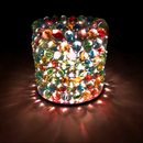 How to Make a DIY Lamp Shade With Glass Marbles