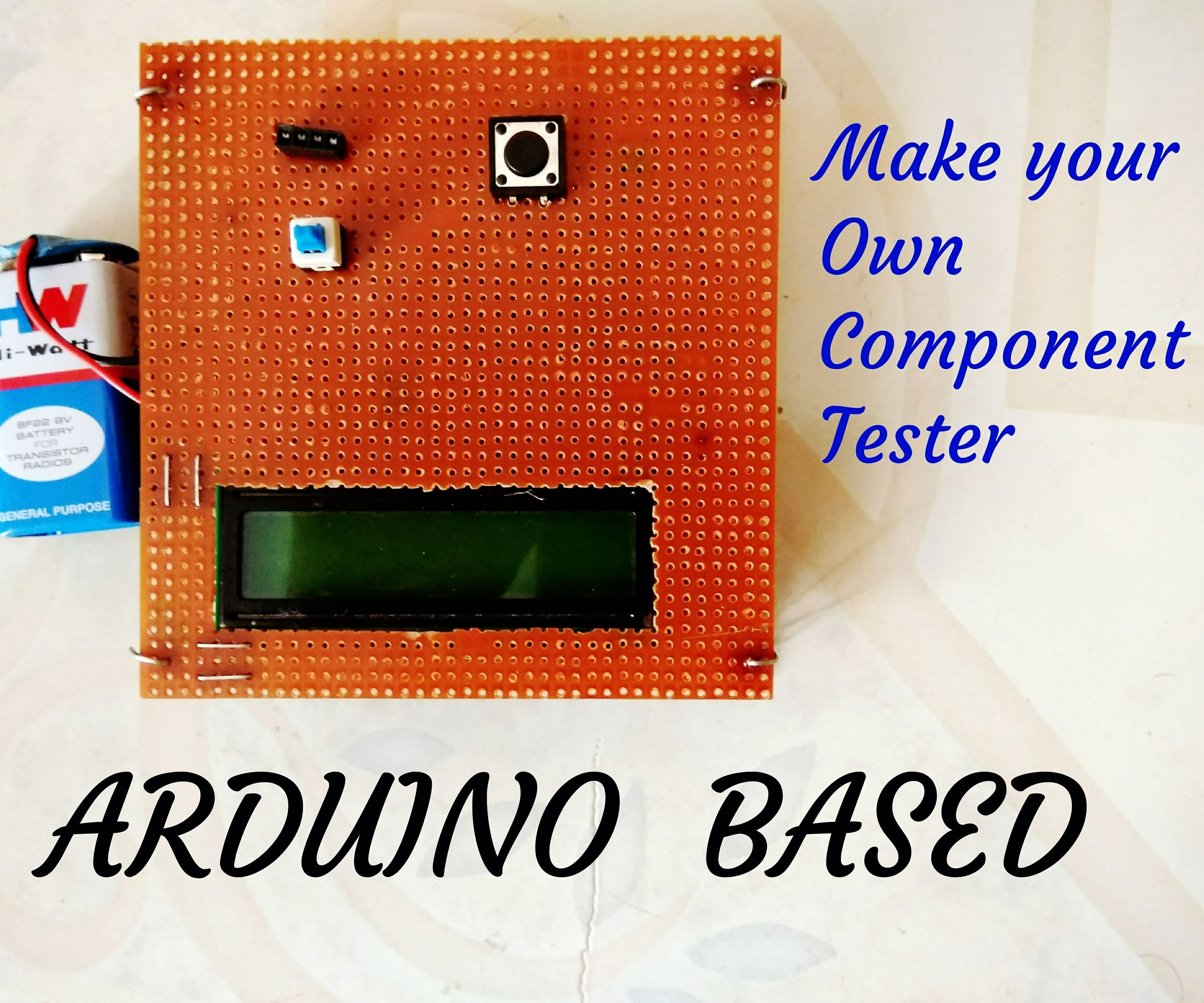 Arduino Components Tester