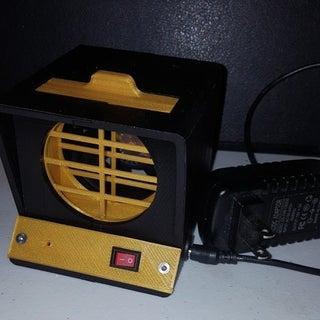 Minimalist 3D Printed Fume Extractor