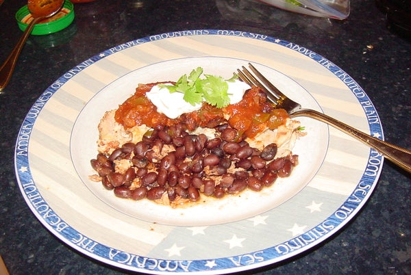 NO THAW Slow Cooker Mexican Chicken Breasts With Variations