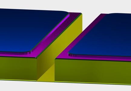 Setup2: 2D Contour for Chamfer