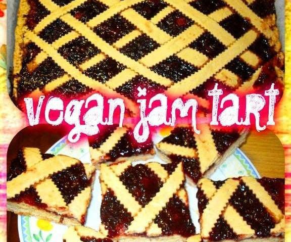 Vegan Jam Tart