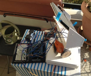 Solar Tracker With Dual Axis Controlled by Arduino - Simple Materials
