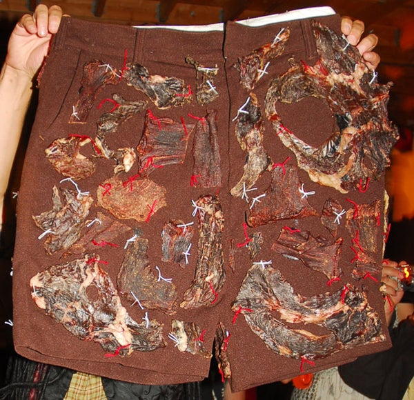 How to Make Meatshorts for Dick Cheney.........or Your Friends