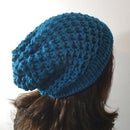 How to Loom Knit a Slouchy Beanie