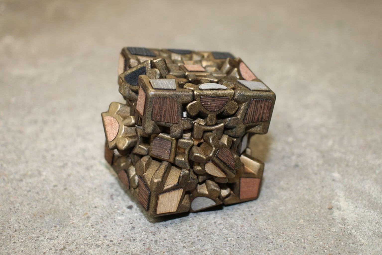Steampunk Rubiks Cube