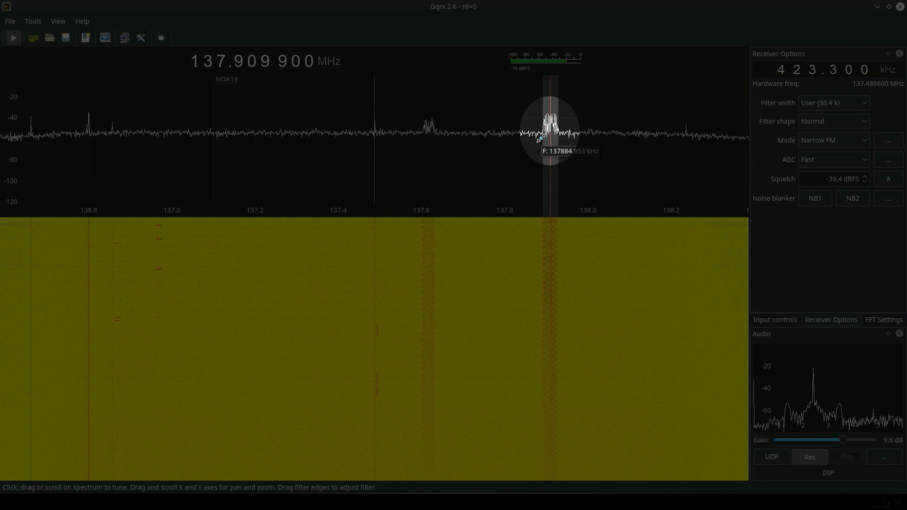 Software to Record the Signal