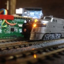 Laptop Touchpad Controlled Model Railroad | PS/2 Arduino Interface