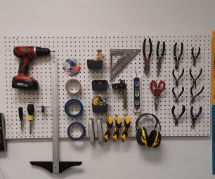 How to Build a Pegboard Wall Organizer