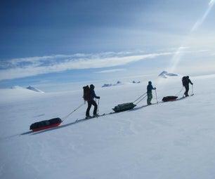 让自己的滑雪缝