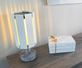How to Make an LED Lamp