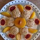 Pluot-Passion Fruit Frozen Yogurt Treats
