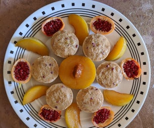 Pluot-Passion Fruit Frozen Yogurt Treats