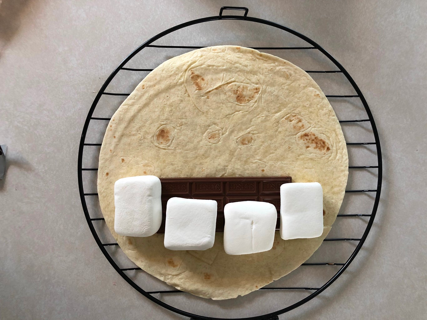 Step 2: Assemble Your S'moresadilla