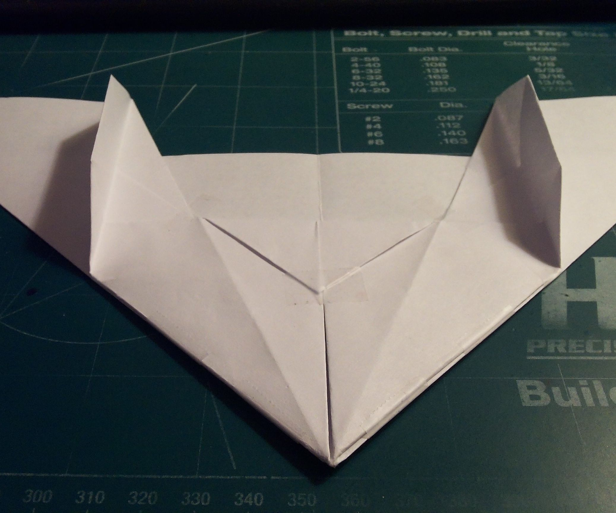 How To Make The AeroDelta Paper Airplane