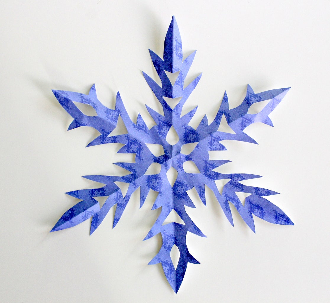 Make a Paper Snowflake or Find a Snowflake Image on the Internet