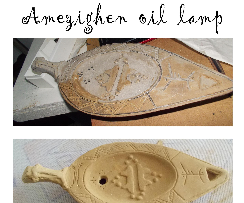 Amezighen oil lampe