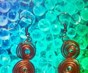 3 Beautiful  Handmade Beaded and Copper Jwellery