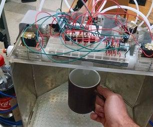 Raspberry Pi Controller Automatic Drink Dispensing Robotic Bartender