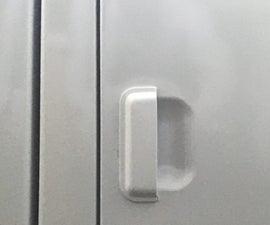 Sturdier Dryer Door Handle