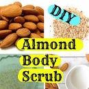 DIY Almond Body Scrub-For Gorgeous Skin in Winter- Winter Skin Care