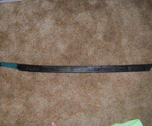 How to Make a Ninja Sword(ninjutao)