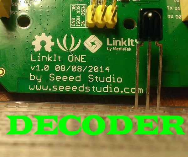 Infrared Decoder With the LinkIT ONE