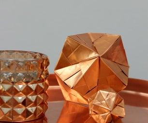 DIY - Copper Sonobe Ball 12