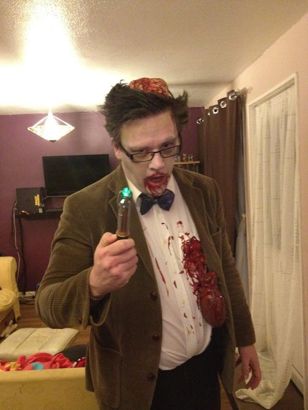 Zombie Doctor Who