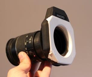 Reversed Lens Filter Adapter