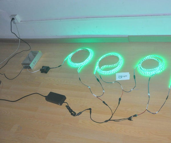 The Way to Connect Single Coler Led Strip Lights