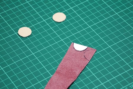 Geometric Earrings: Cutting Out the Shapes