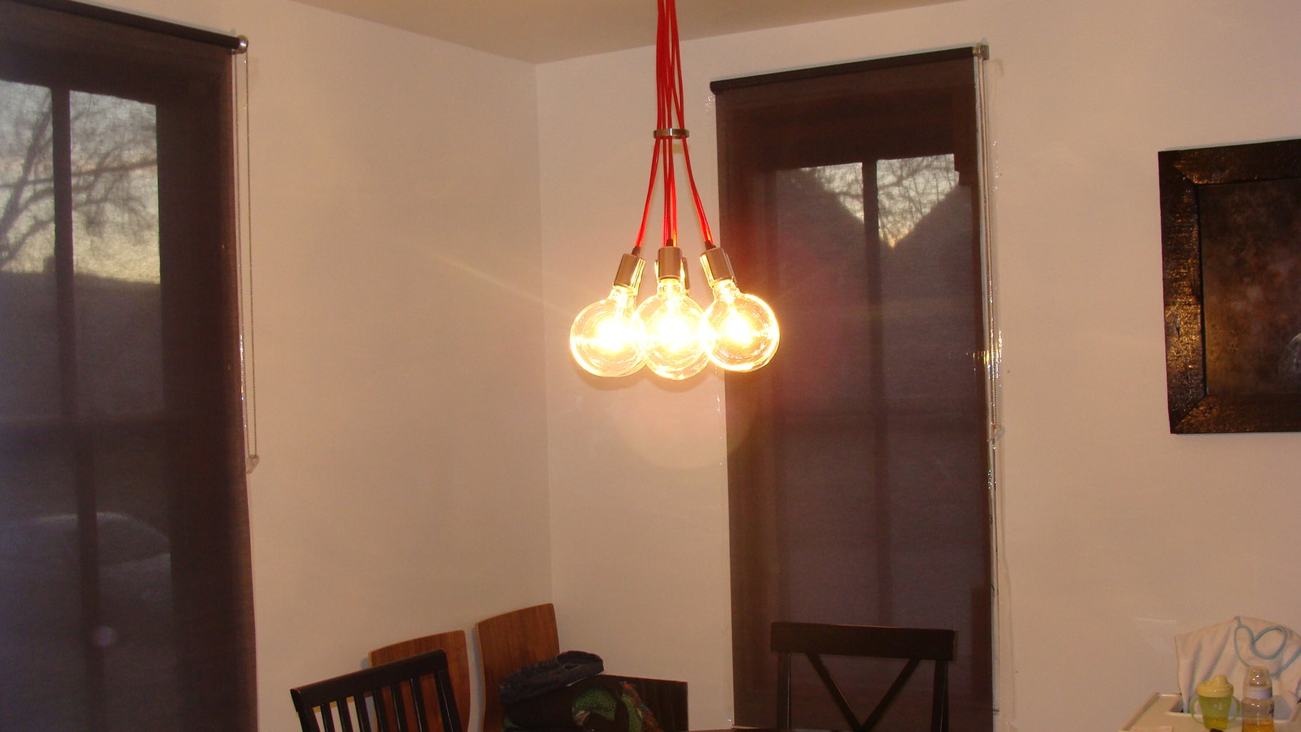 Finished Light With Bulbs