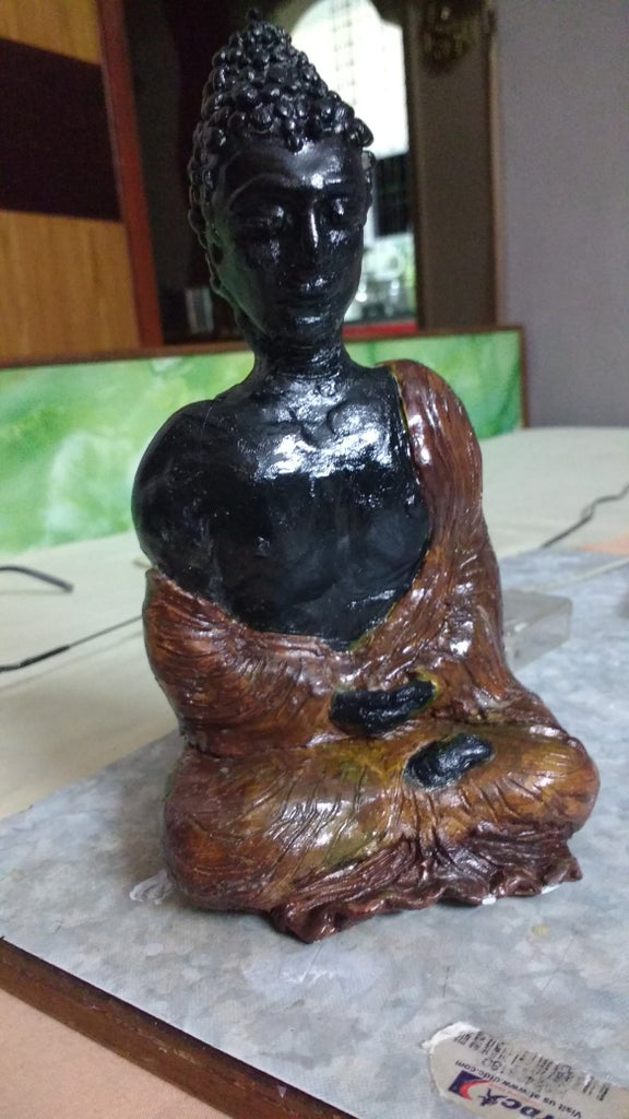 Buddha Made Out of Clay