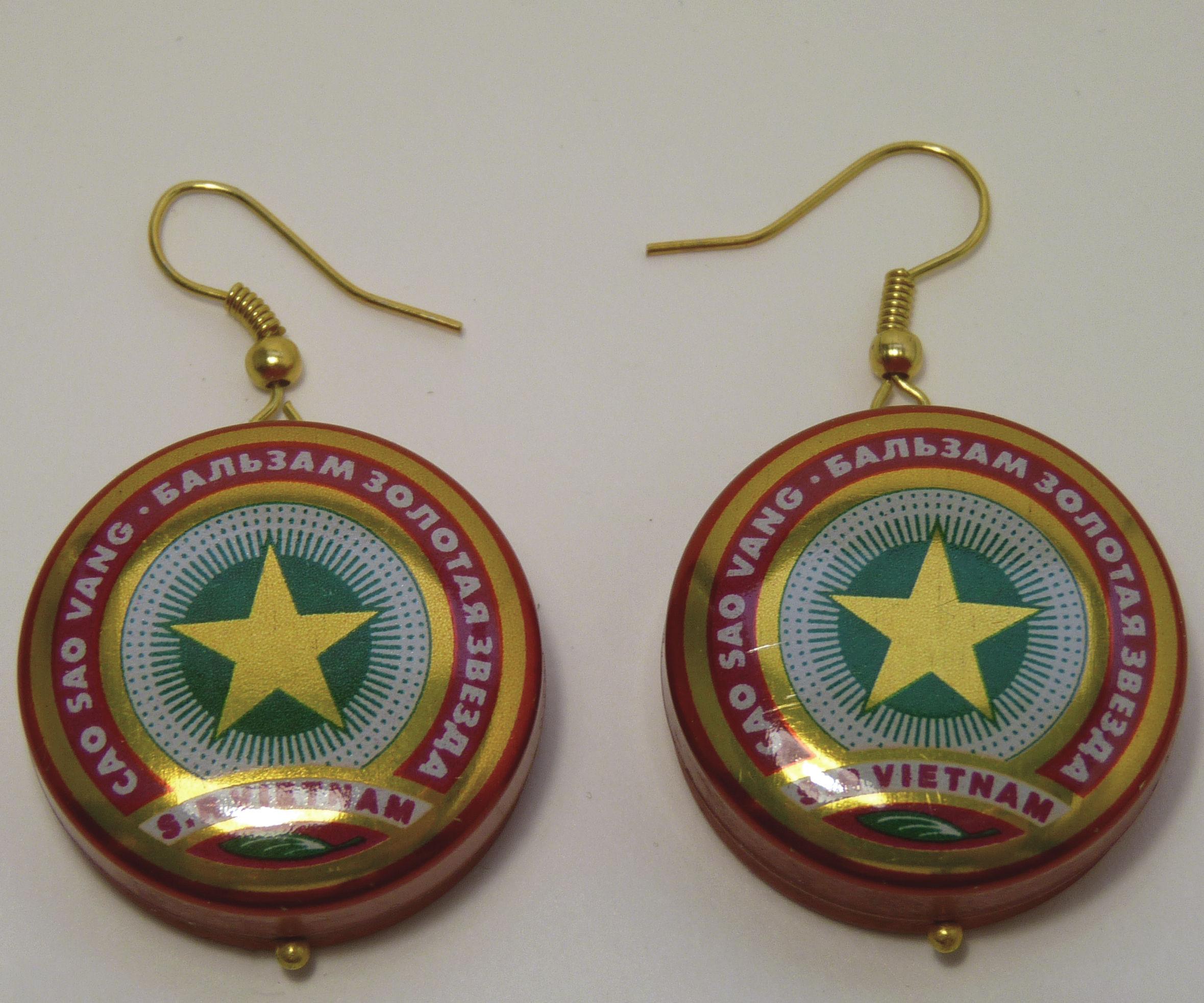 Vietnamese Star Ointment Earrings