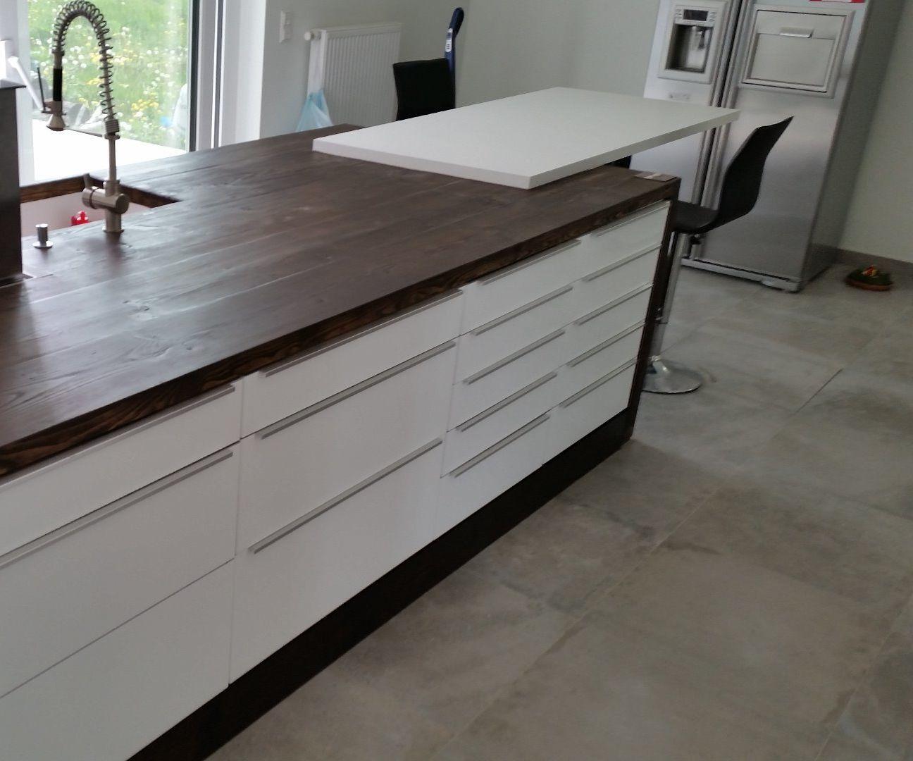 Concrete to Wood - Kitchen
