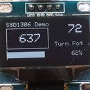 Arduino and the SSD1306 OLED I2C 128x64 Display