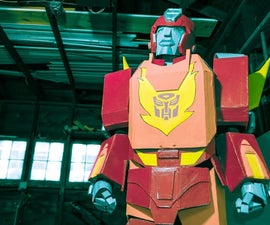 """How to Make a Transformers """"Hot Rod/ Rodimus Prime"""" Costume"""