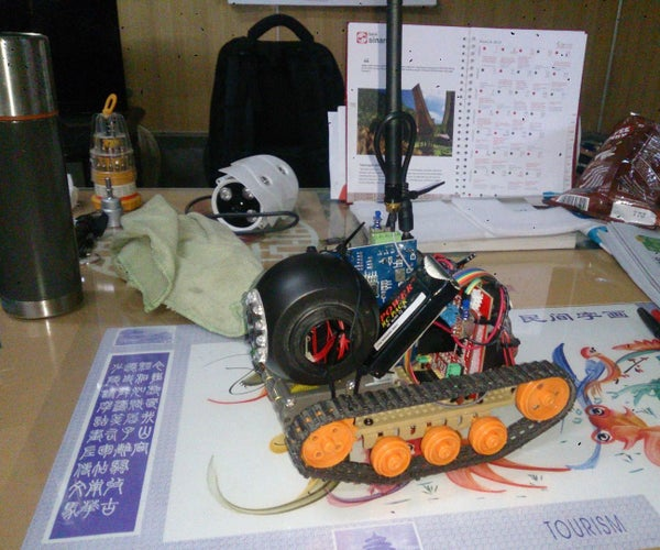 Android Controlled Arduino Bluetooth Panzer