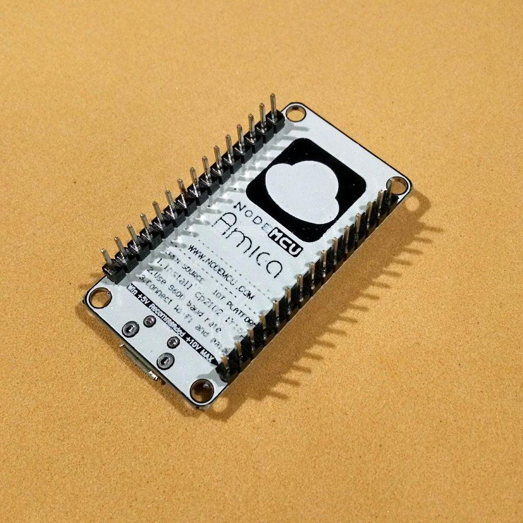 Circuit With NodeMCU Board