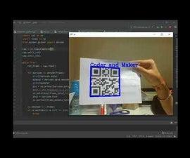 QR码扫描仪在Python中使用OpenCV